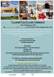 Goumet Food Lovers Weekend @ AVINCIS VINURI