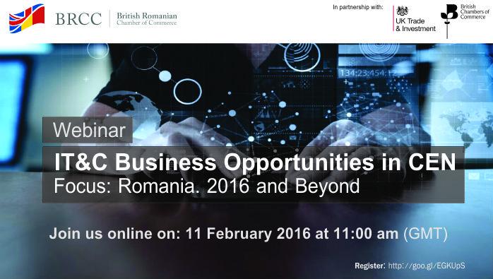 Webinar - IT&C Business Opportunities in Romania @ Online