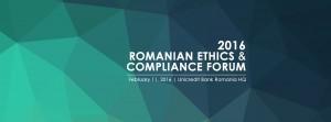 Romanian Ethics & Compliance Forum (RECF) @ Unicredit Bank