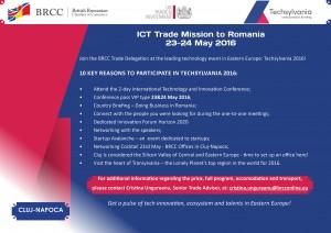 ICT Trade Mission to Romania @ Students Culture Hall (Casa de Cultura a Studentilor) | Cluj-Napoca | Județul Cluj | Romania