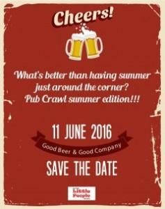 The 6th edition of the Charity Pub Crawl @ Pub Crawl | București | Municipiul București | Romania