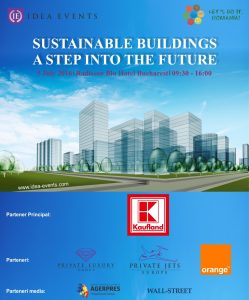 """Sustainable buildings – A step into the future"" @ Radisson Blu Hotel Bucharest, Atlas 1 Venue"