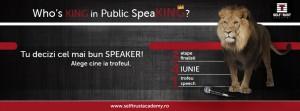 """""""Who`s King in Public Speaking?"""""""