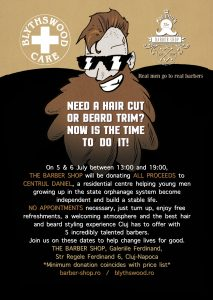 Need a hair cut or beard trim? Now is the time to do it @  The Barber Shop, Galeriile Feridnand | Cluj-Napoca | Județul Cluj | Romania