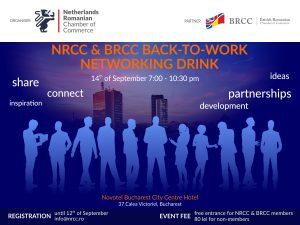NRCC - BRCC Back to Work Networking Event @ Novotel Bucharest City Centre Hotel | Bucharest | Bucharest | Romania