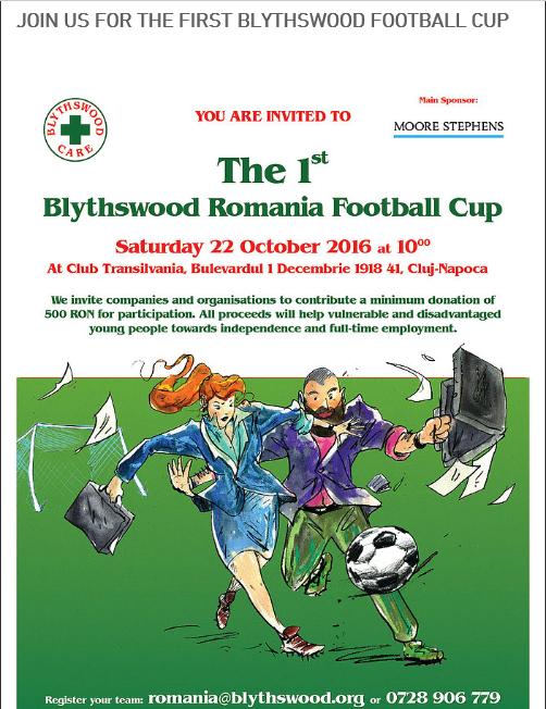 1st Blythswood Football Cup @ Club Transilvania    Cluj-Napoca   Județul Cluj   Romania