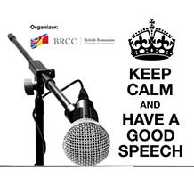 Keep Calm and have a Good Speech! @ Novotel Hotel, Paris Droite Room