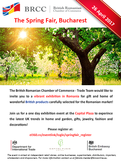 Spring Fair Bucharest @ Capital Plaza Hotel