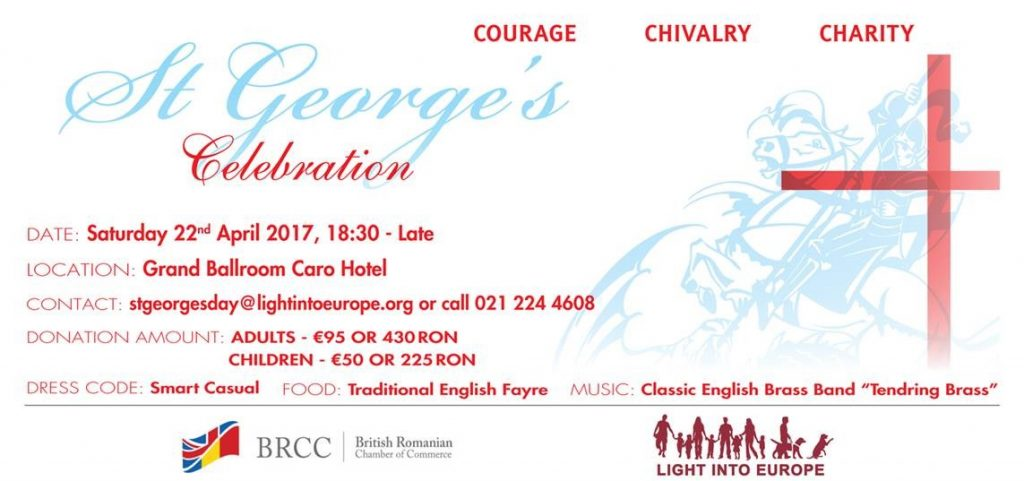 Light into Europe's St George's Day Celebration @ Hotel Caro