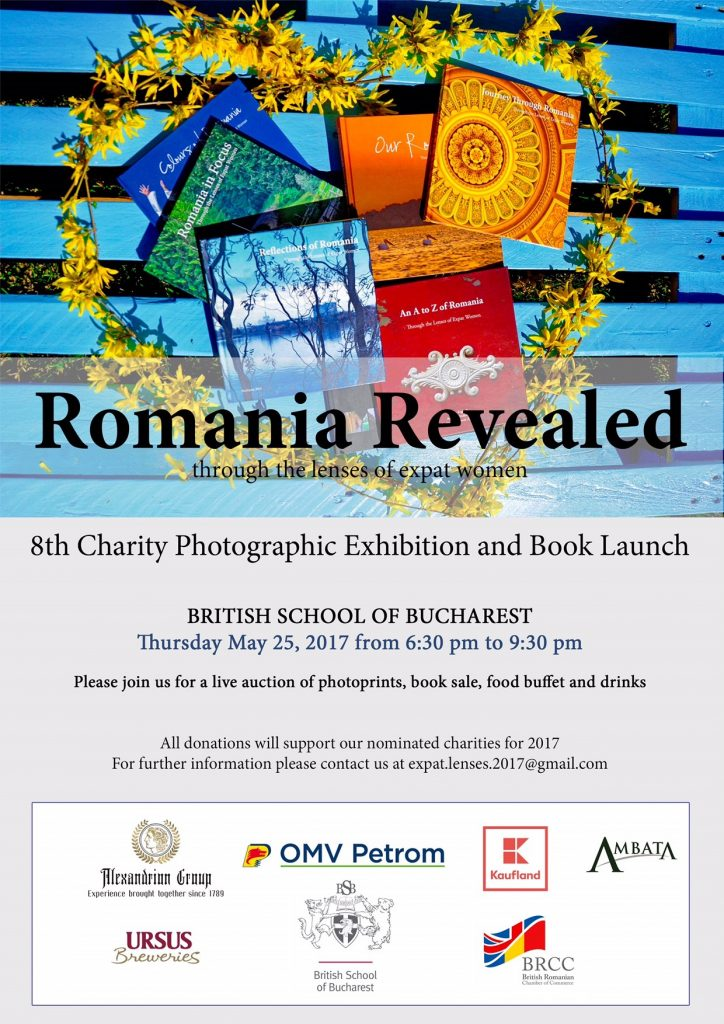 "NEW ""ROMANIA THROUGH THE LENSES OF EXPAT WOMEN"" BOOK LAUNCH @ BRITISH SCHOOL OF BUCHAREST"