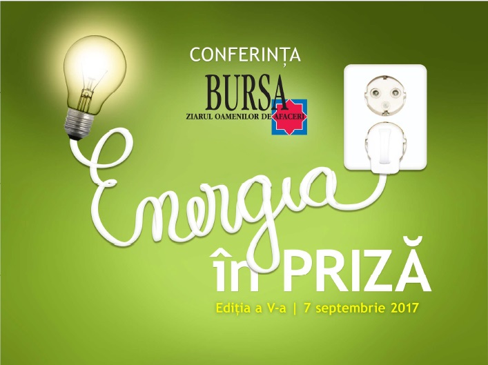 "The 5th edition of the Conference ""ENERGY PLUGGED IN"" @ Elisabeta Restaurant 