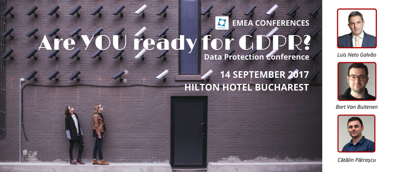 Are you ready for GDPR Conference? @ Athénée Palace Hilton Bucharest
