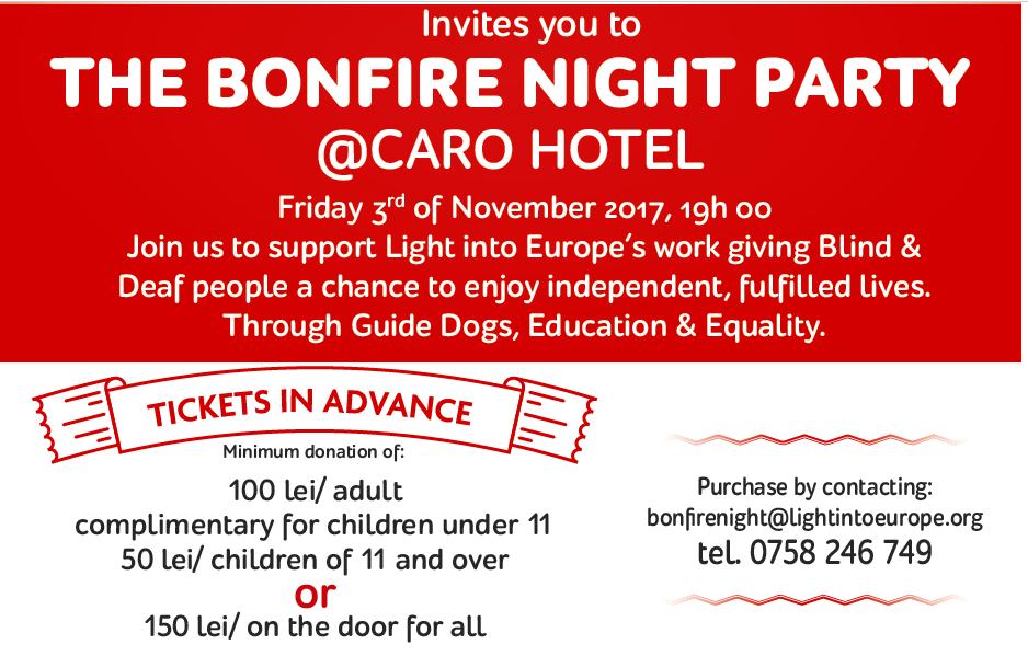 THE BONFIRE NIGHT PARTY   BRCC