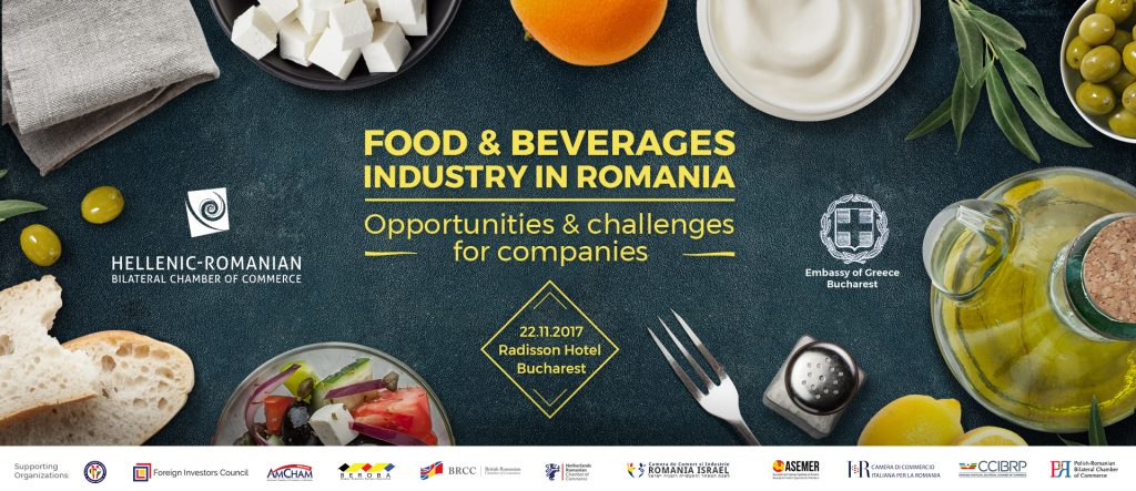 Food & Beverages Industry in Romania @ RADISSON BLU HOTEL, BUCHAREST