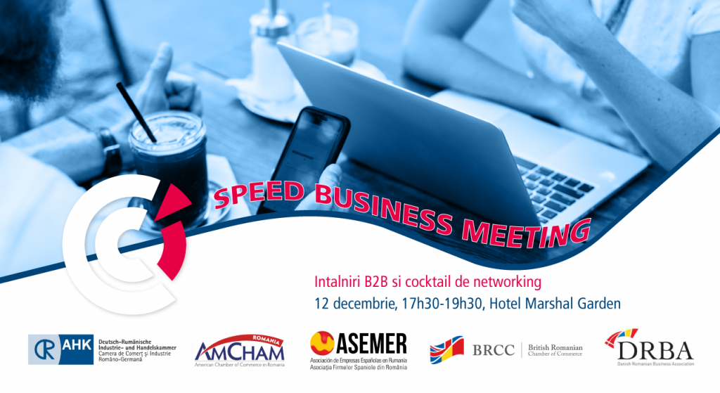 Speed Business Meeting @  Hotel Marshal Garden, sala Panoramic | București | Municipiul București | Romania