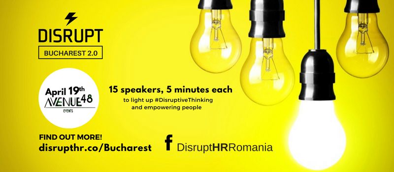 DisruptHR Bucharest 2.0 @ Avenue 48 | București | Municipiul București | Romania