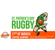 St. Patrick's Day 2018 Rugby Bonanza @ The Marriott Grand Hotel at Champion's Sports bar