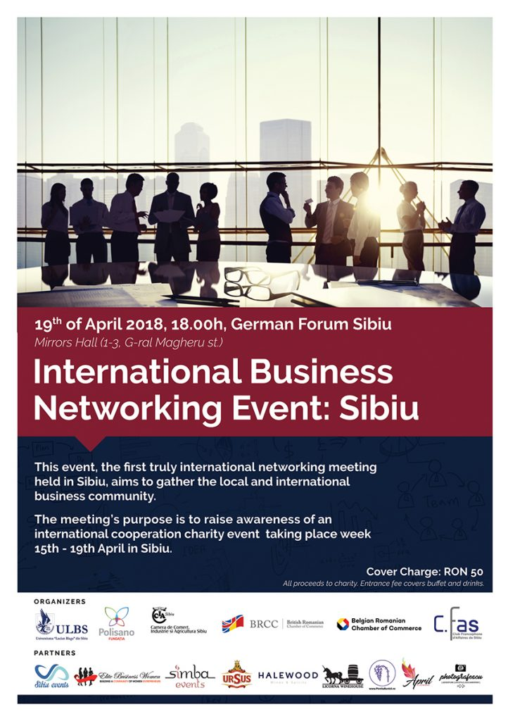 International Business Networking Event: Sibiu @ German Forum Sibiu, Mirrors Hall | Sibiu | Județul Sibiu | Romania
