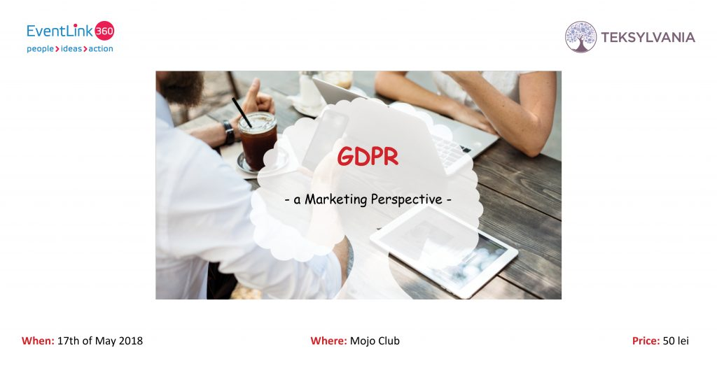 GDPR - a Marketing Perspective! @ Mojo Club | București | Municipiul București | Romania
