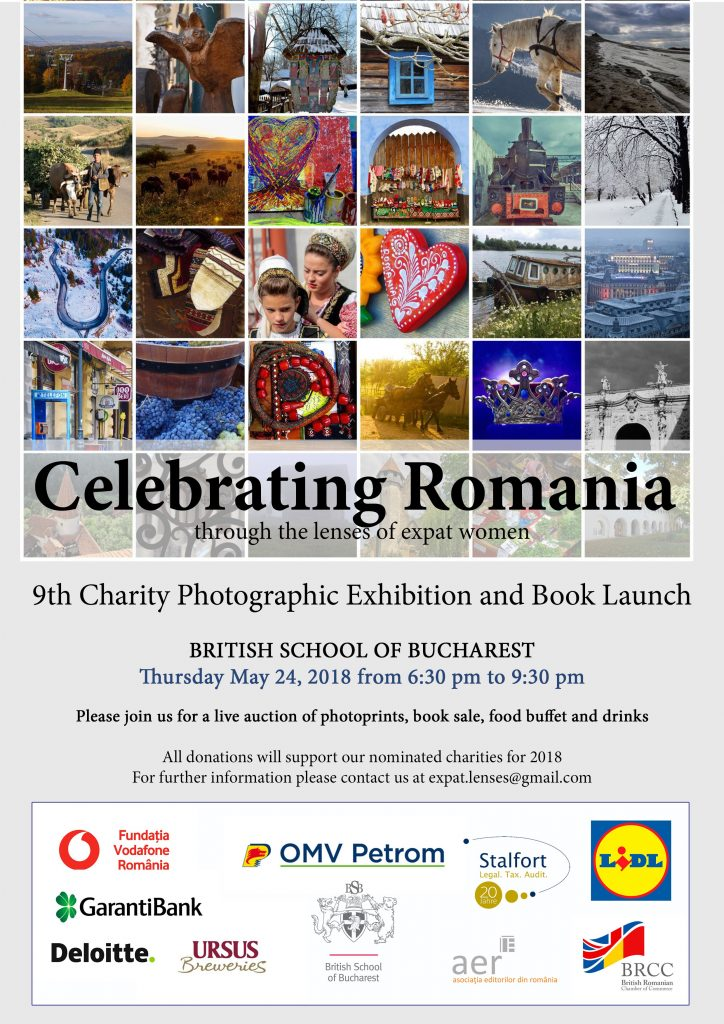 9th Charity Photographic Exibition and Book Launch @ The British School of Bucharest