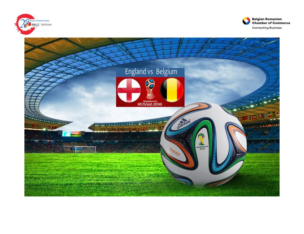 England vs Belgium in the 2018 Football World Cup. @ RADISSON BLU HOTEL, BUCHAREST