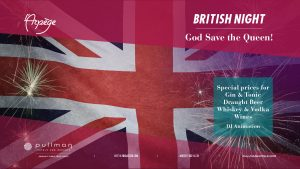 British Night - God save the Queen ! @ L'Arpège Bar