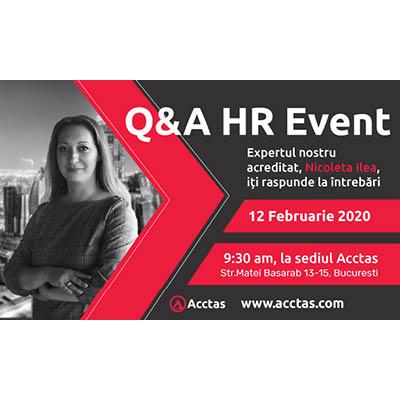 Q&A HR Event